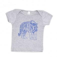 T-shirt Bébé Makié Tigre Gris - 6 mois