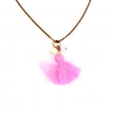 Collier Isabel Marant Pop - Rose