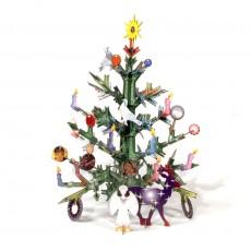 Jeu de construction Totem Christmas Tree Multicolore