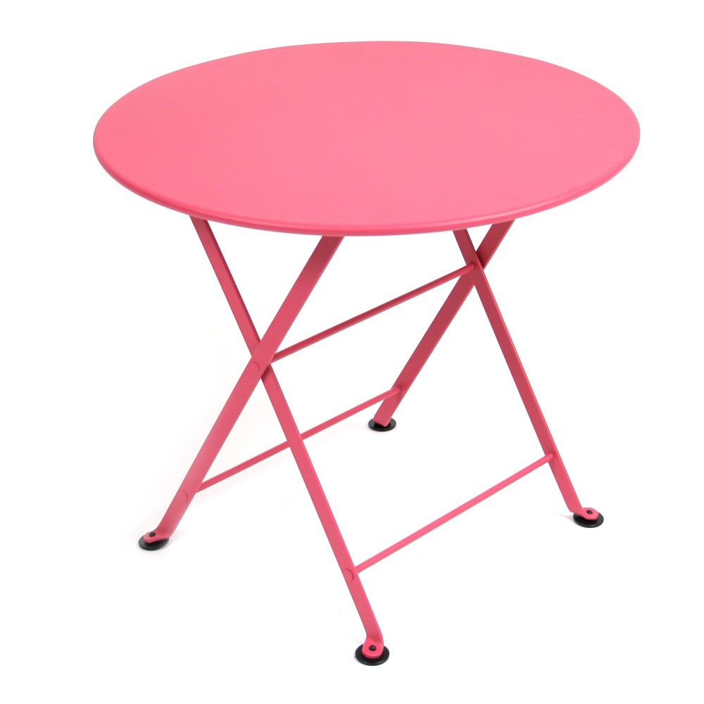 Table tom pouce fushia fermob mobilier smallable - Fermob tom pouce ...