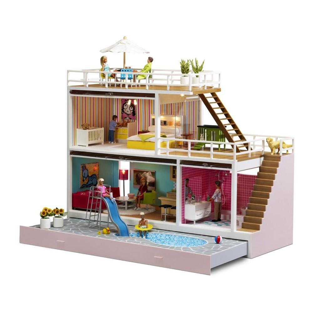 Maison de poup e 8 quipements lundby jeux jouets - Maison de poupee lundby ...