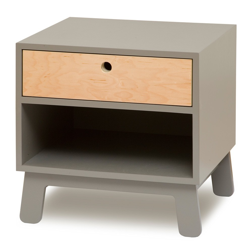 Kids furniture egg sparrow sparrow nightstand babykid - Table de nuit wenge ...