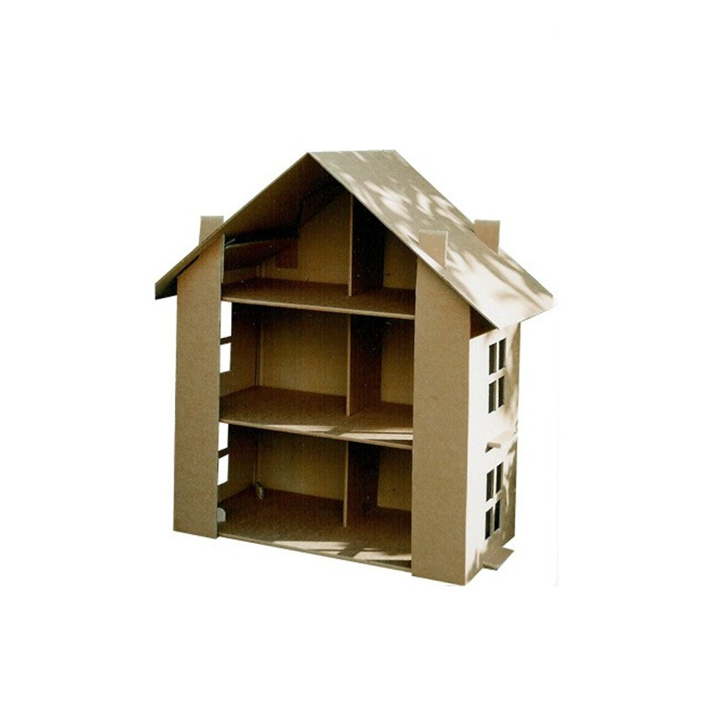 maison en carton a construire une maquette de ferme fabriquer with maison en carton a. Black Bedroom Furniture Sets. Home Design Ideas