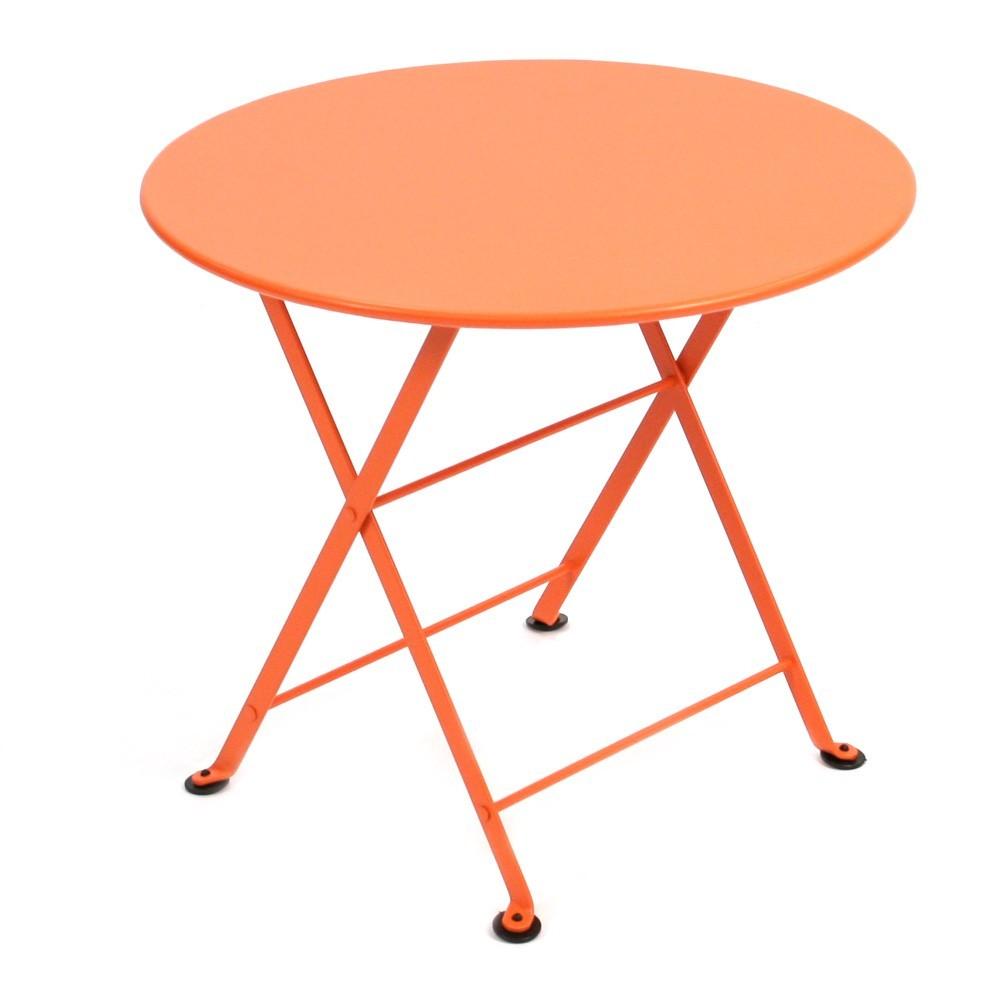 table tom pouce orange fermob mobilier enfant smallable. Black Bedroom Furniture Sets. Home Design Ideas