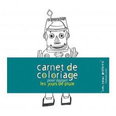 Carnet de coloriage Mes héros préférés  Multicolore
