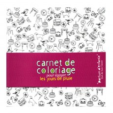 Carnet de coloriage Parfum d&#039;enfance 