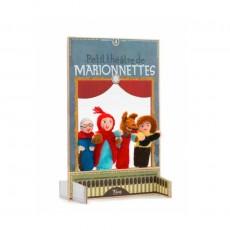 Marionnettes Petit Chaperon Rouge Multicolore
