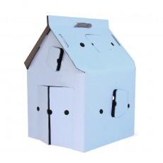 Casa Cabana Maison en carton Blanche