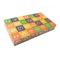 Cubes Anglais Multicolore