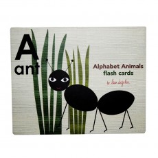 Alphabet Animal Flash Cards - Lisa Dejohn