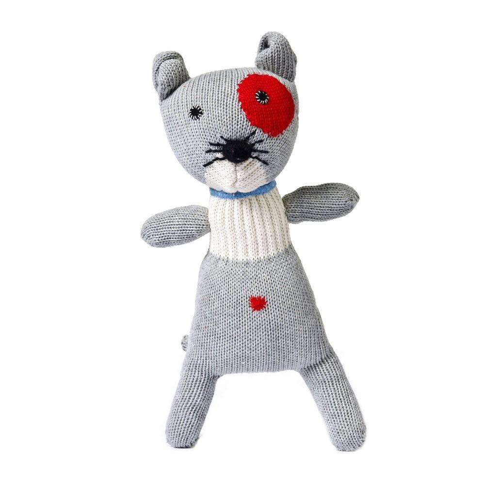 chat gris clair anne claire petit jeux jouets loisirs enfant smallable. Black Bedroom Furniture Sets. Home Design Ideas