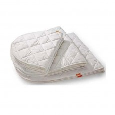 Surmatelas lit b&eacute;b&eacute; - Ecru