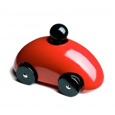 Voiture Streamliner F1 Rouge