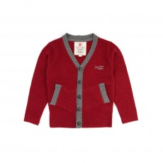 Gilet Teddy - Rouge