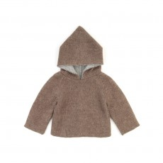 Sweat R&eacute;versible - Gris / Marron