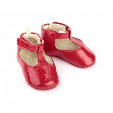 Ballerines vernies Sassy - Rouge