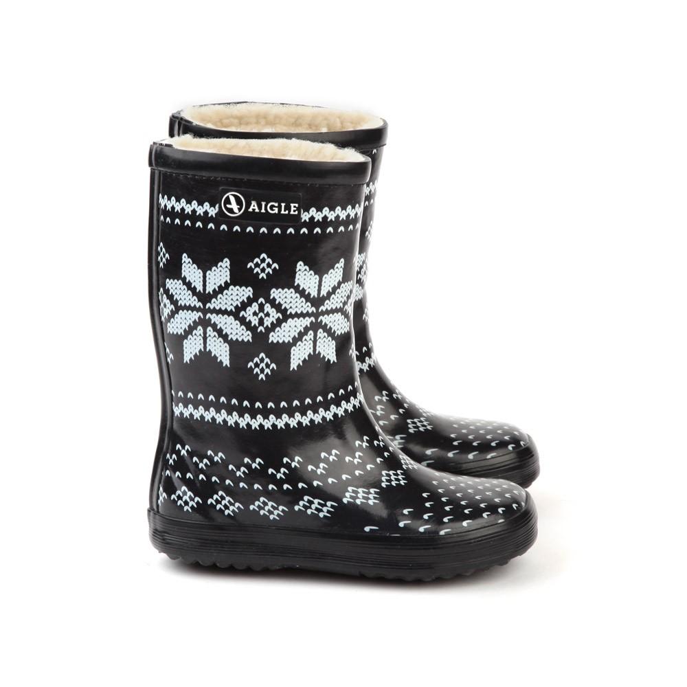 Chaussures enfant smallable - Bottes caoutchouc aigle ...