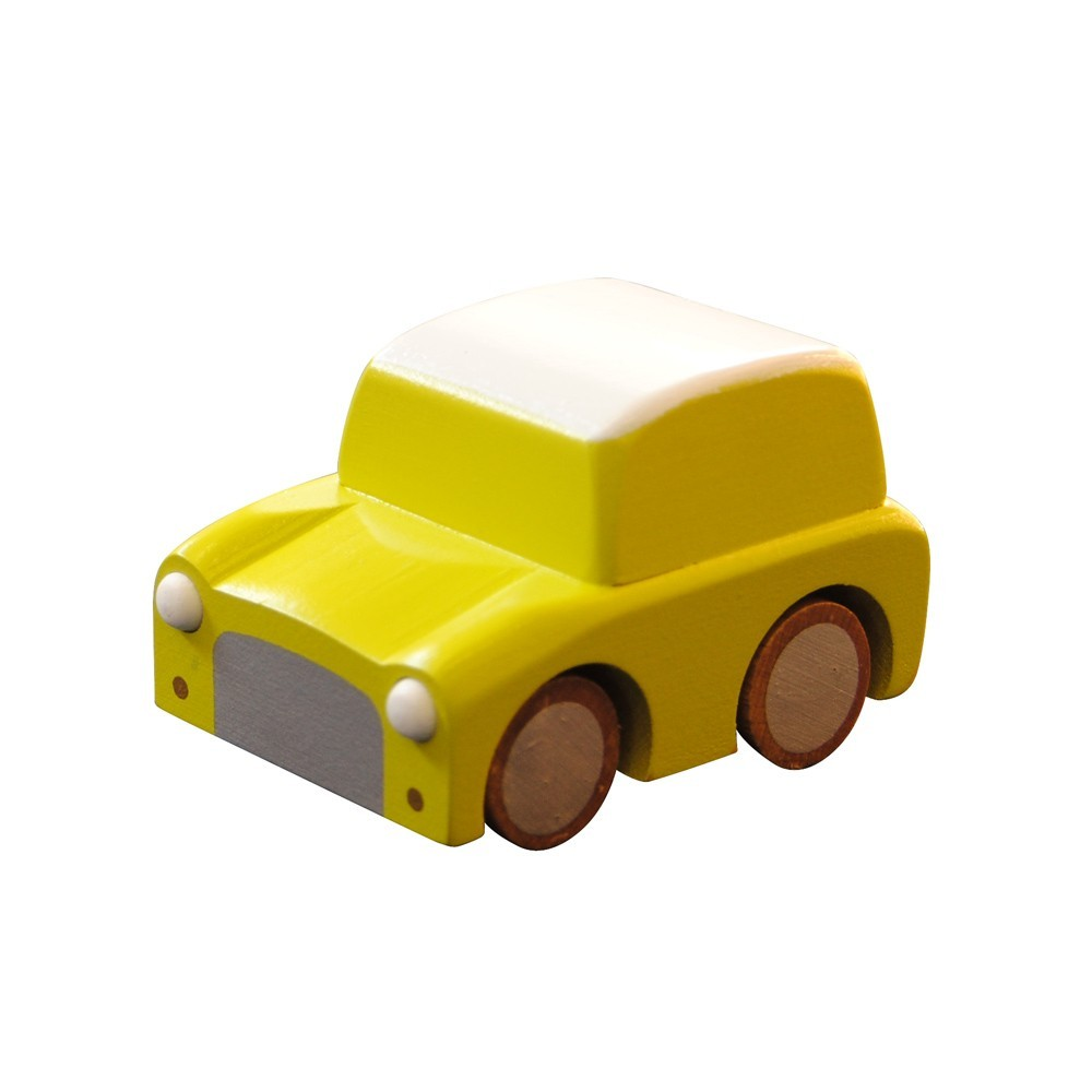 petite voiture kuruma jaune kiko jeux jouets loisirs enfant smallable. Black Bedroom Furniture Sets. Home Design Ideas