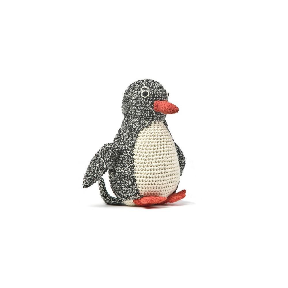 doudou pingouin noir anne claire petit jeux jouets loisirs enfant smallable. Black Bedroom Furniture Sets. Home Design Ideas