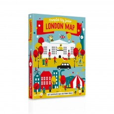 Carte Crumpled City Junior Londres