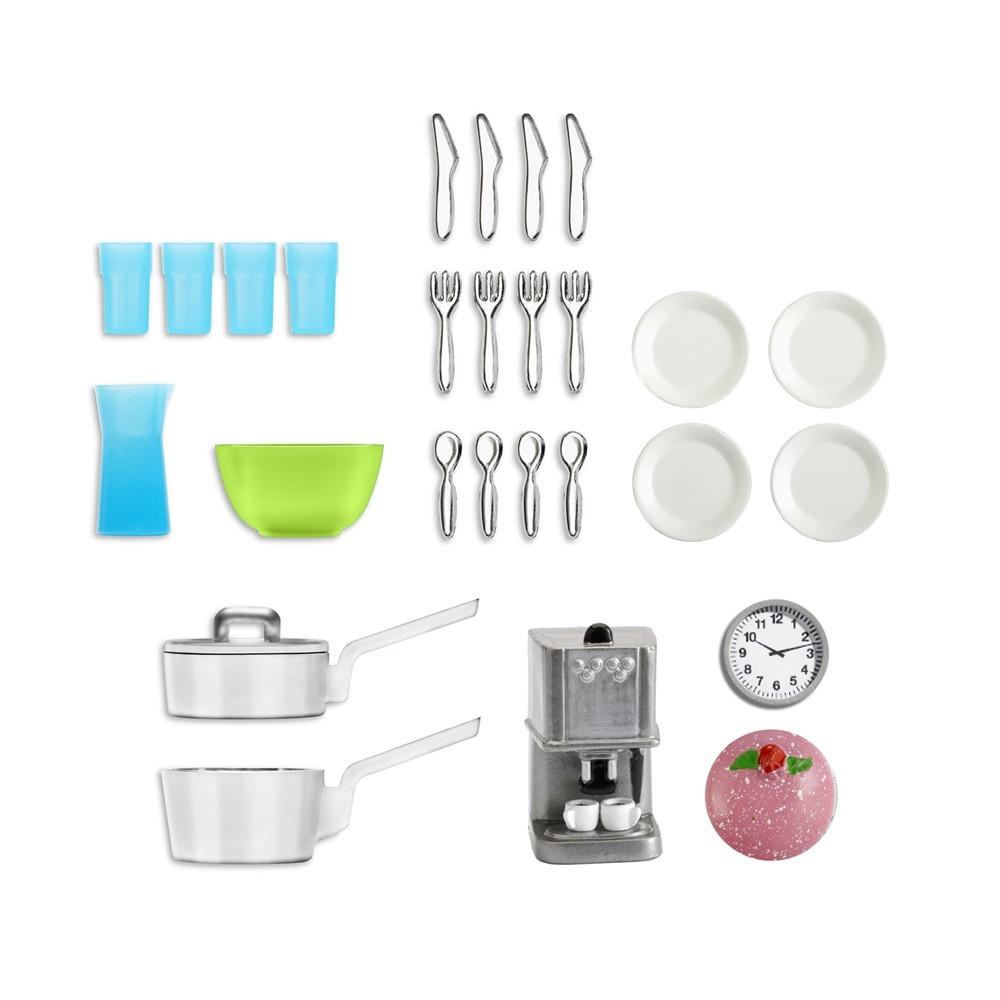 Accessoires maison de poup e kit accessoires cuisine for Accessoires decoratifs maison