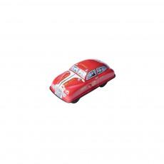 Petite voiture de pompier à pression - Rouge