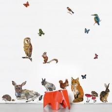 Sticker Les animaux - 27 pièces