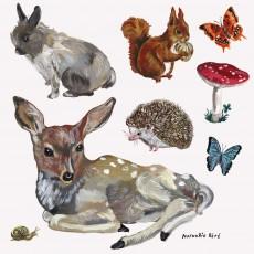 Stickers Les animaux - 8 pièces