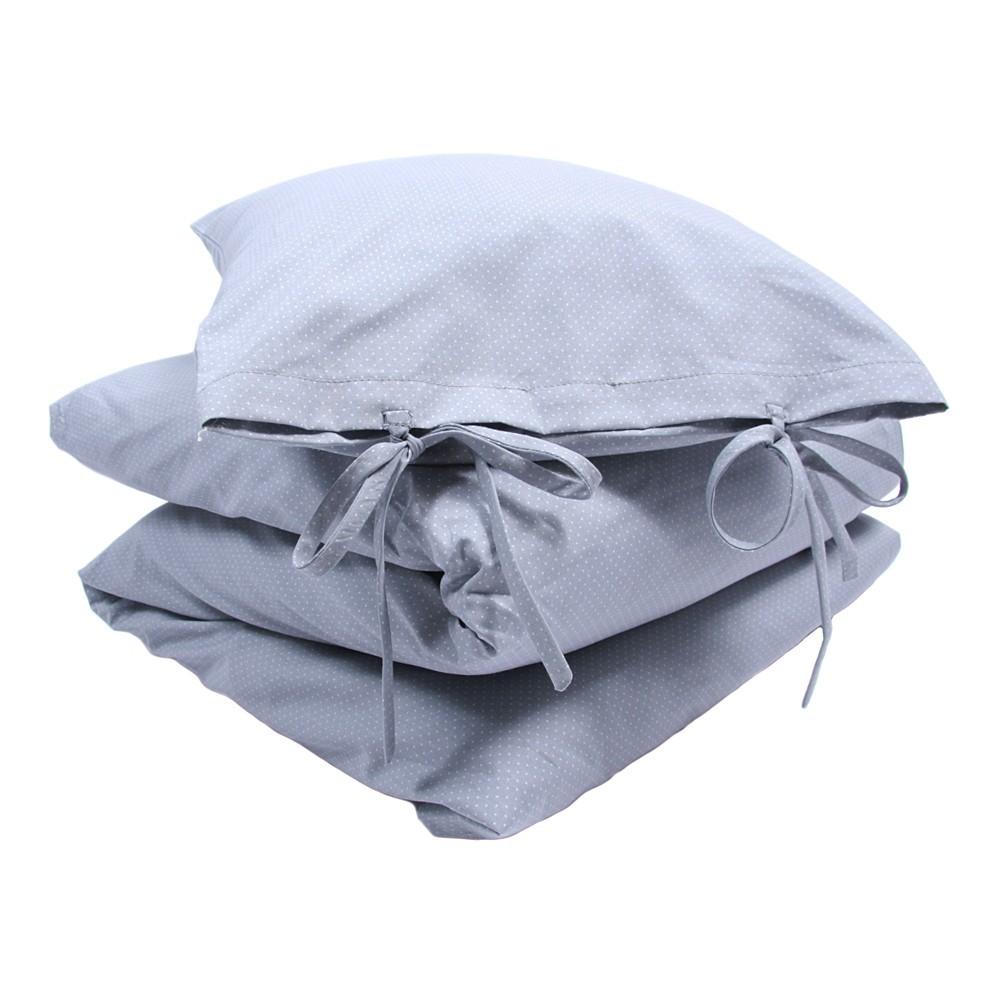 parure de lit gris bleu numero 74 d coration enfant smallable. Black Bedroom Furniture Sets. Home Design Ideas