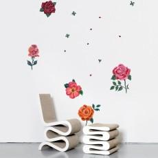 Stickers roses - Nathalie Lété