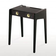 Bureau Laptop - LD 130 - Laque mate - Noir