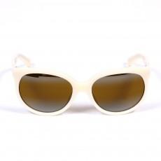Lunettes de soleil Cat Eye - Ivoire Blanc cassé