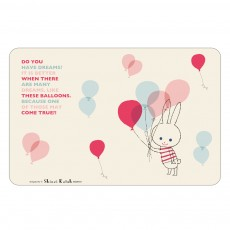Set de table Ballon Lapin