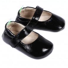 Ballerines vernies Dolly B&eacute;b&eacute; - Noir