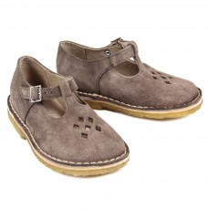 Sandales Suede Martin - Taupe