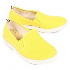 Chaussures en toile - Jaune