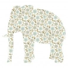 Sticker Elephant - Gris