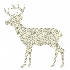 Sticker Cerf - Gris