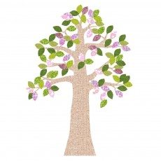 Sticker Arbre Avril - Textile