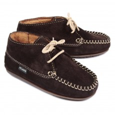 Chaussures suede - Marron