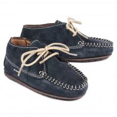 Chaussures suede - Bleu marine