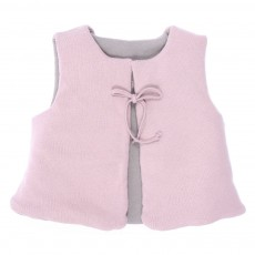 Gilet sans manche Zou B&eacute;b&eacute; - Rose