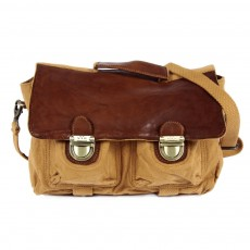 Cartable Vintage - Camel