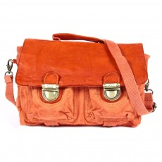 Cartable Vintage - Rouge