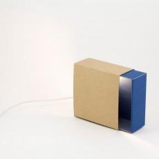Boîte à lumière - Bleu