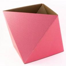 Boîte de rangement OCTA - Rose fluo