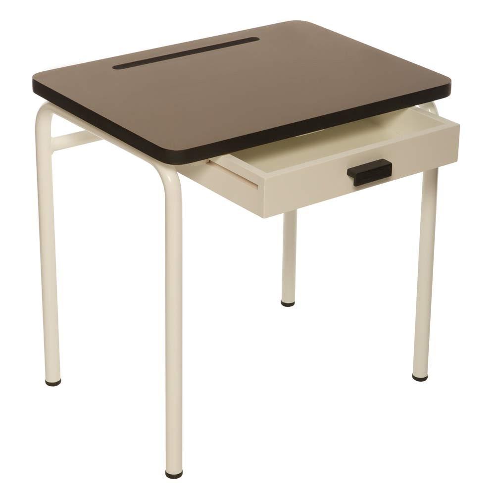 bureau enfant r gine taupe les gambettes mobilier smallable. Black Bedroom Furniture Sets. Home Design Ideas