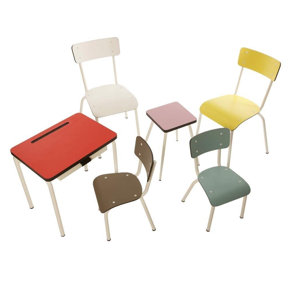 Bureau enfant r gine taupe les gambettes mobilier smallable - Bureau couleur taupe ...