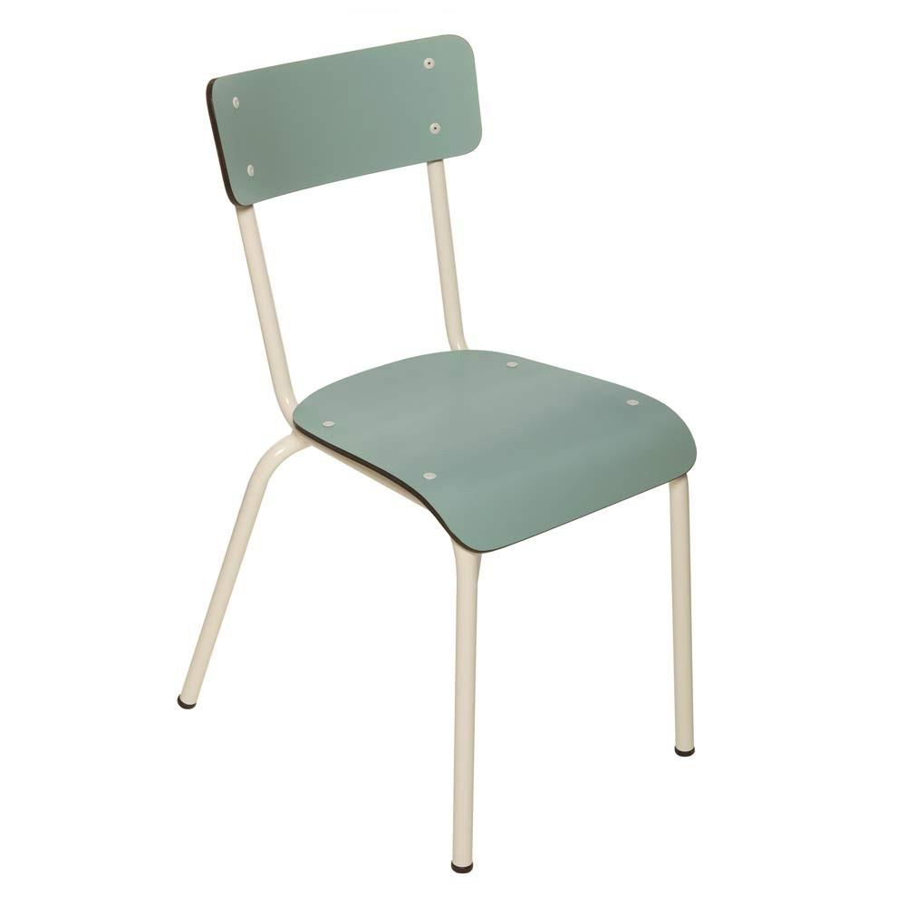 chaise adulte suzie bleu jade les gambettes mobilier smallable. Black Bedroom Furniture Sets. Home Design Ideas