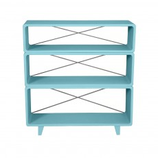 Biblioth&egrave;que Millefeuille - Turquoise